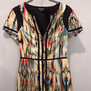 Bebe Zip Up Cocktail Dress (Size 2)